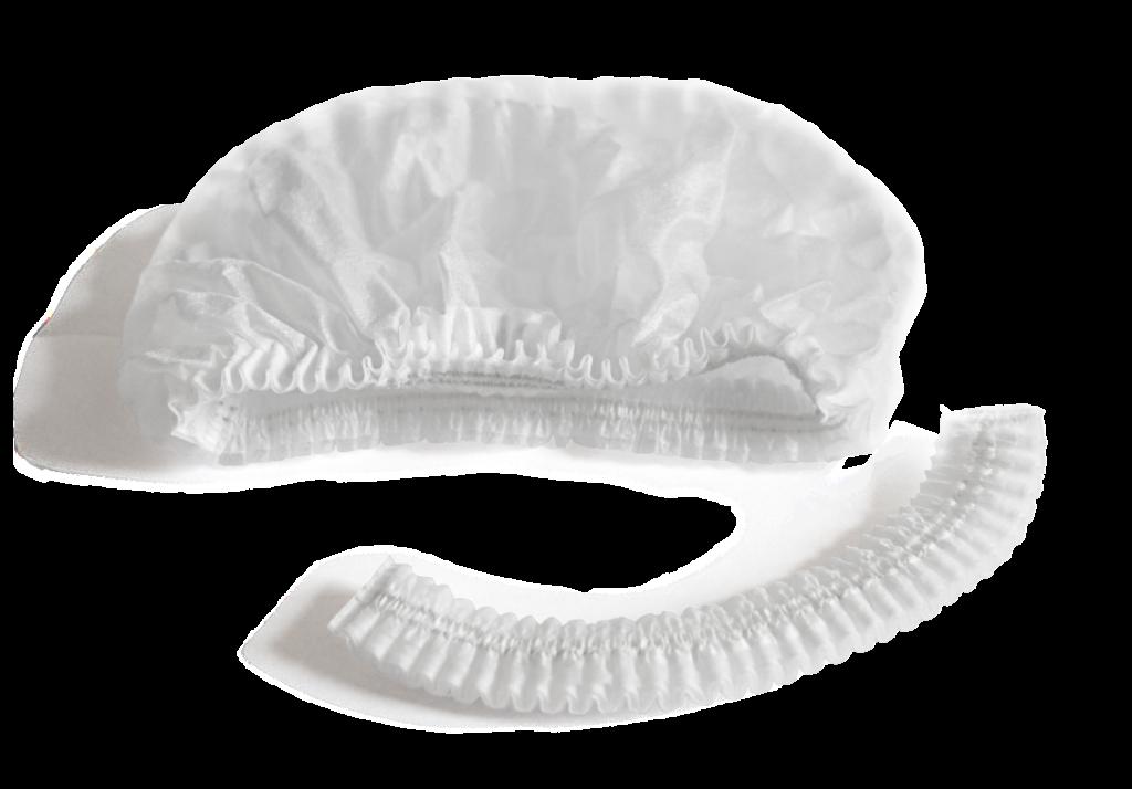 Медицинская шапочка Шарлотта белая