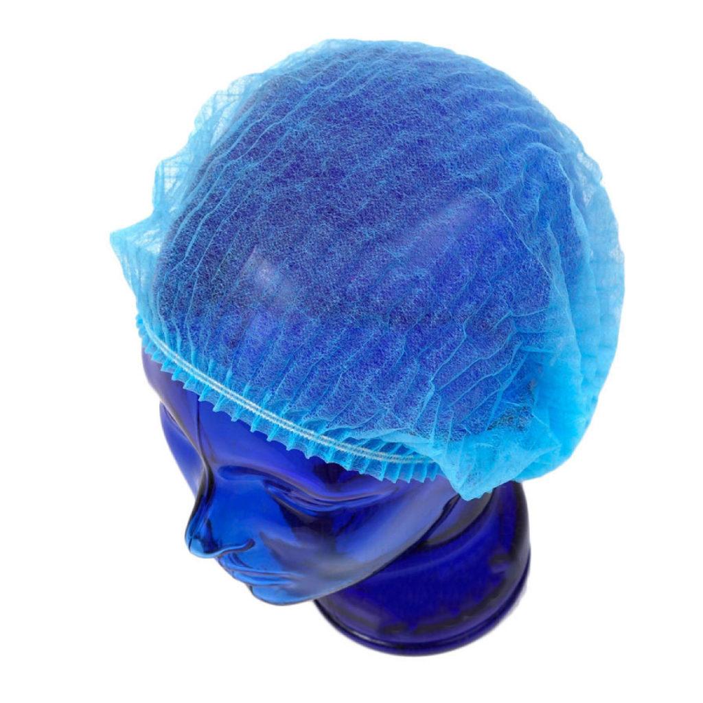 Медицинская шапочка Шарлотта голубая