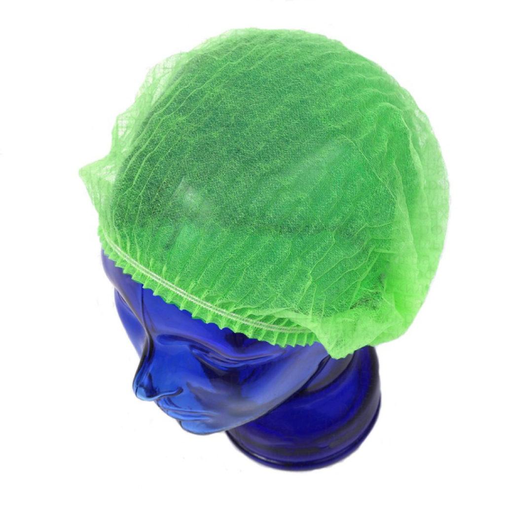 Медицинская шапочка Шарлотта зеленая