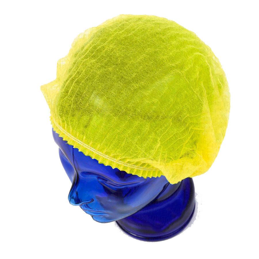 Медицинская шапочка Шарлотта желтая