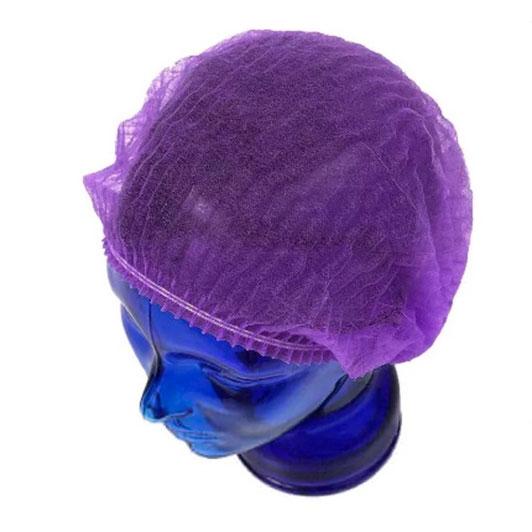 Медицинская шапочка Шарлотта фиолетовая
