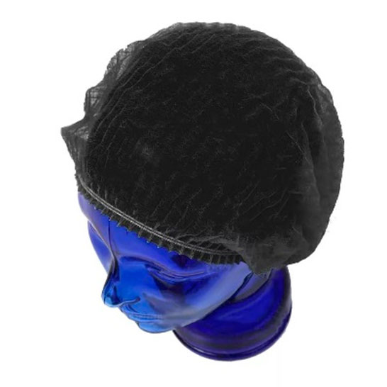 Медицинская шапочка Шарлотта черная