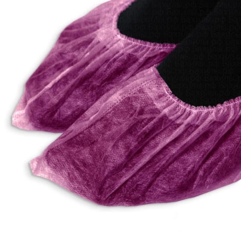 Носки одноразовые из спанбонда, цветные, р-р L