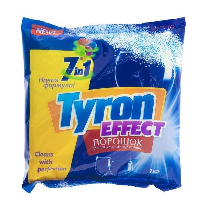 TYRON Порошок для посудомоечных машин 7 в 1, 1кг.