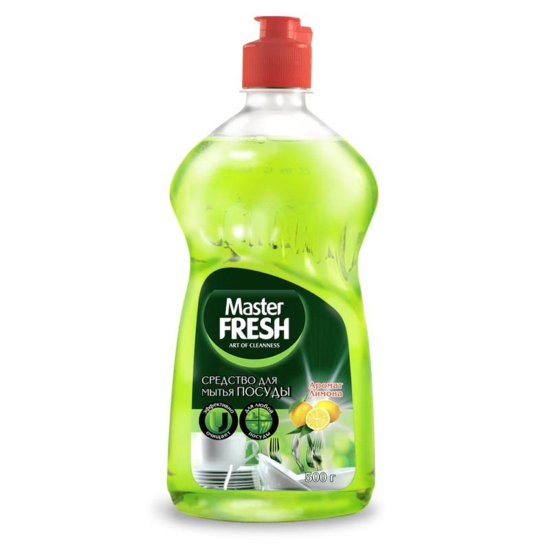 Master FRESH Жидкость для мытья посуды Аромат Лимона 500 мл.