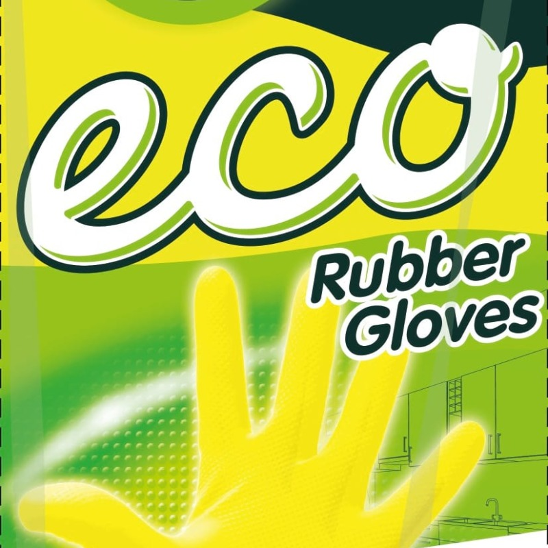 Master FRESH ЭКО хозяйственные перчатки, 1 пара (большой размер L/XL)