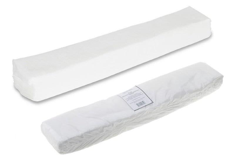 Воротничок в пачке 8*40 см, белый спанлейс