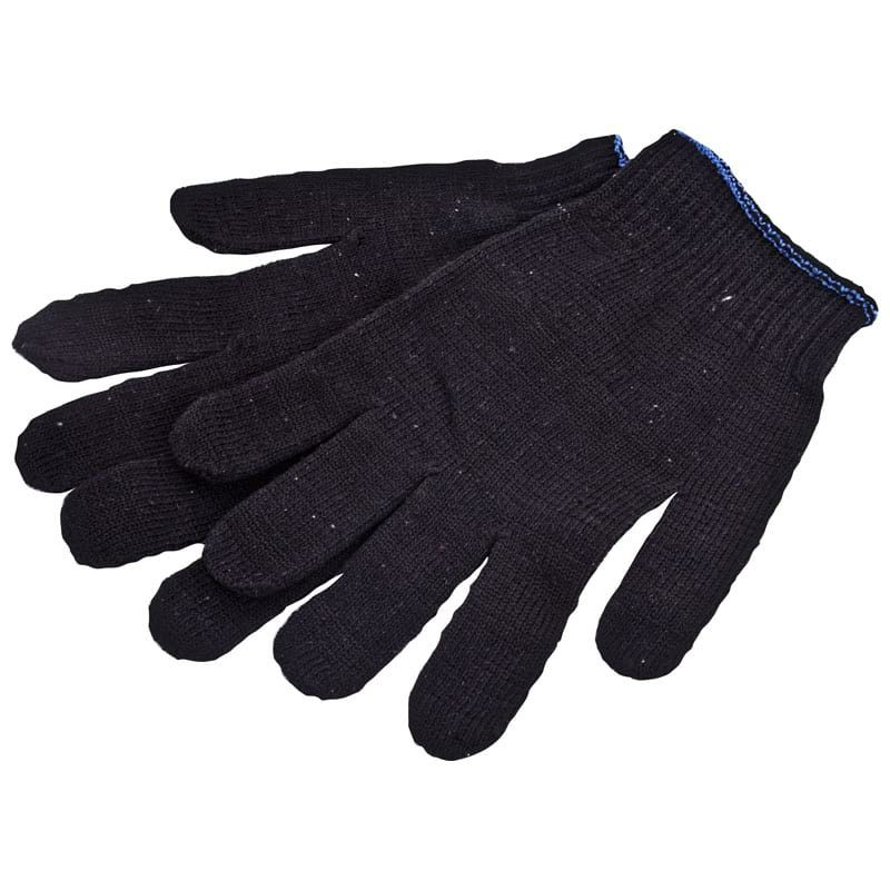 Перчатки х/б, черные