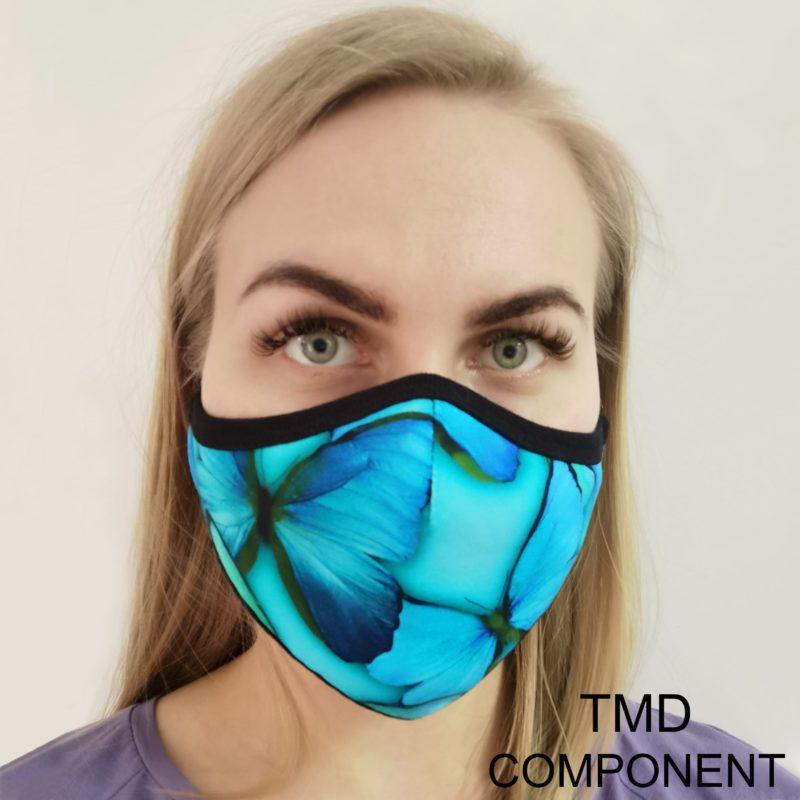 Защитная маска для лица со сменным фильтром