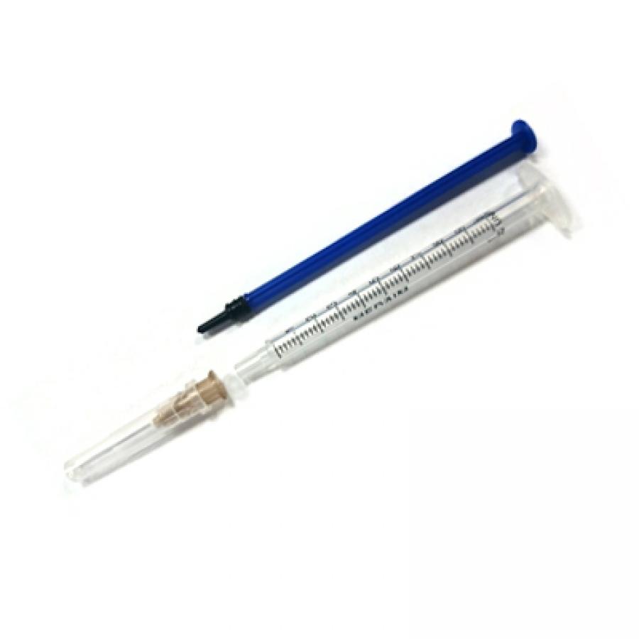 """Шприц инсулиновый MedAim U-100 однократного применения 1 мл с иглой 0,45*10мм (26GХ2/5"""")"""