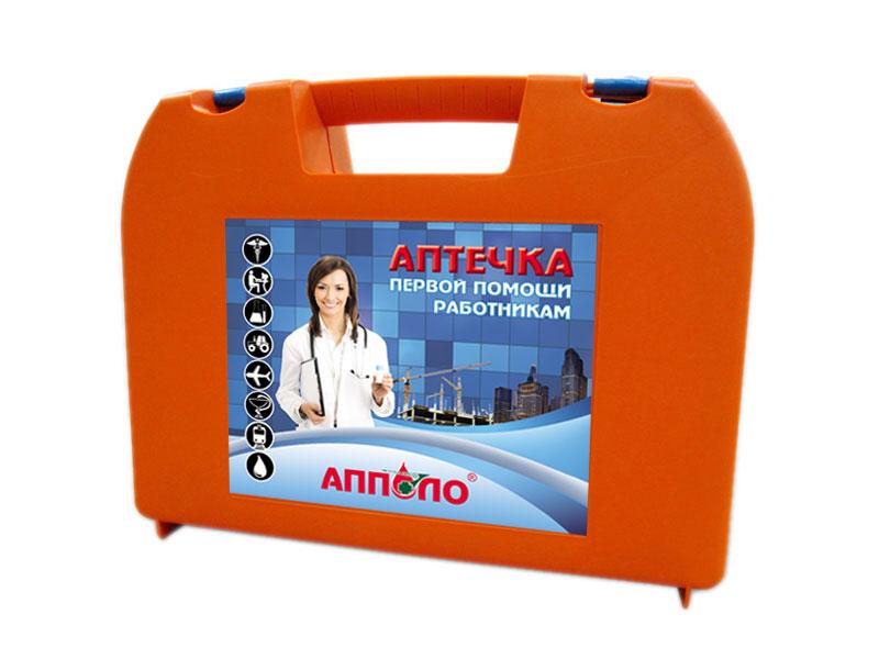 Аптечка первой медицинской помощи (пластиковый чемодан)