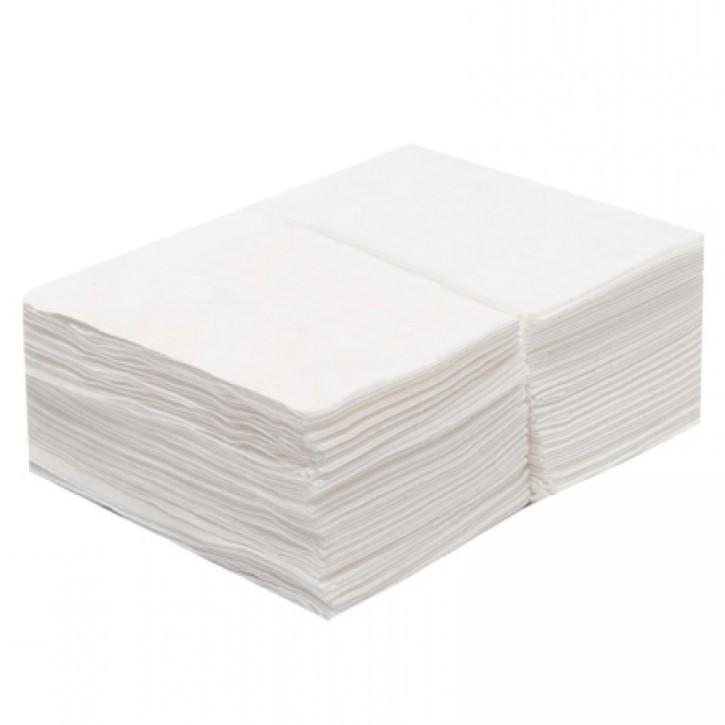 Салфетки в пачке White Line 30*40 см. Белый спанлейс