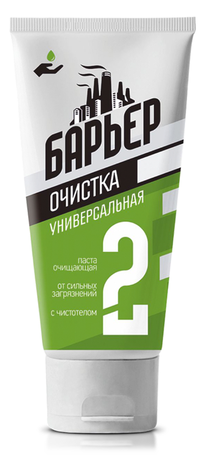 Паста защитно-очищающая универсальная абразивом «Барьер» (200 мл.)