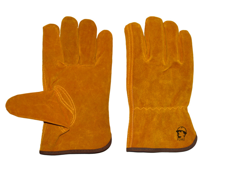 Перчатки «драйвер» (жёлтые)