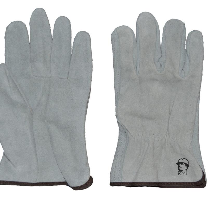 Перчатки «драйвер люкс» серые