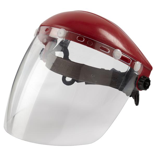Щиток защитный лицевой «Исток» поликарбонат оголовье реечный механизм