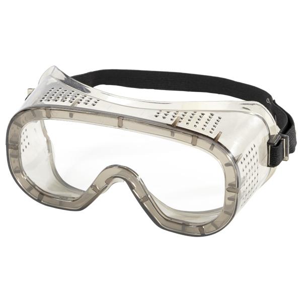 Очки закрытые защитные «Исток Эконом» прямая вентиляция (индивидуальная упаковка)