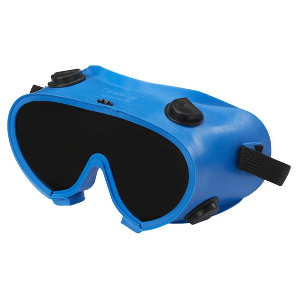 Защитные очки газосварщика «Исток» NEW закрытого типа (затемнённые)