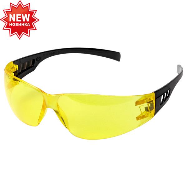 Очки открытые защитные «Исток» Ультра Лайт Классик желтые