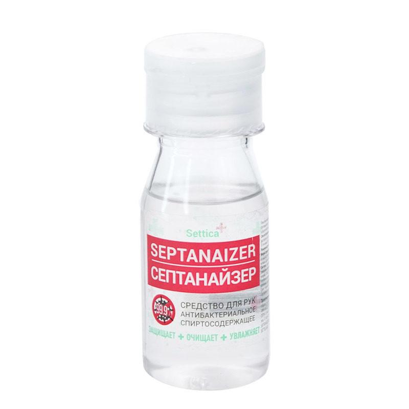 Антибактериальное средство Settica Septanaizer 100 мл, кнопка-спрей, жидкость (без спирта)