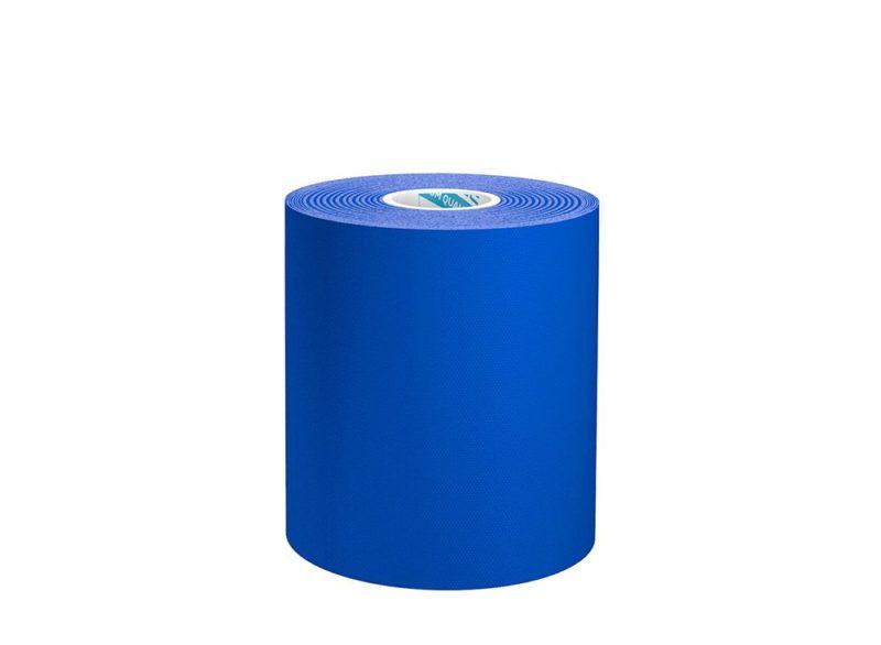 Нейлоновый кинезио BBTape™ Dynamic Tape MAX 7,5см × 5м темно-синий