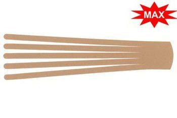 Кинезио тейп преднарезанный BB EDEMA STRIP МАХ 5 cм x 25 см бежевый