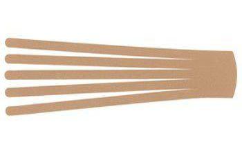 Кинезио тейп преднарезанный BB EDEMA STRIP 7,5 cм x 25 см бежевый