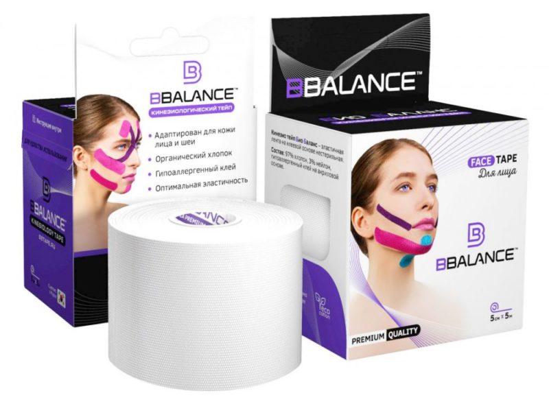 Тейп для лица BB FACE TAPE™ 5 см × 5 м хлопок белый